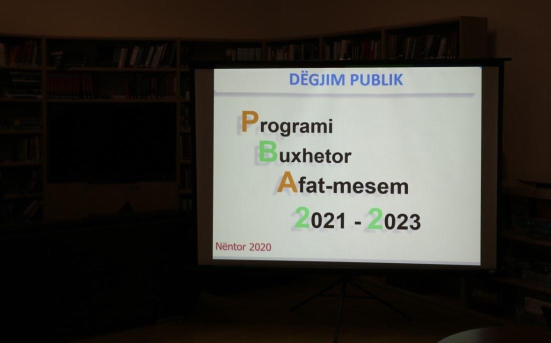 Prezantohet Projekt Buxheti i Bashkisë Kukës 2021 dhe Buxheti Afatmesëm 2021-2023