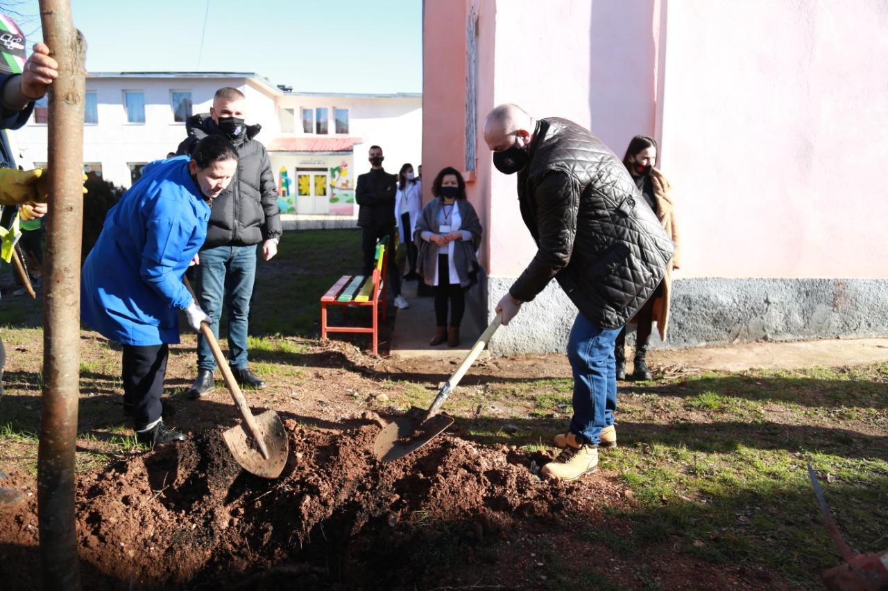 Kreu i Bashkisë ka filluar sot fushatën e mbjelljes