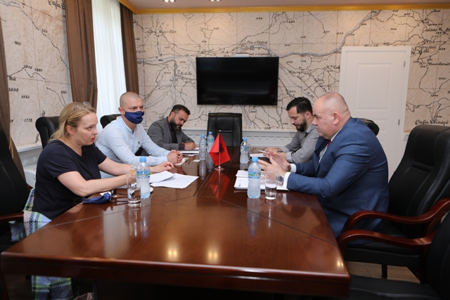 Kryetari i Bashkisë priti në një takim zyrtar Ambasdoren e OSBE-së në Tiranë